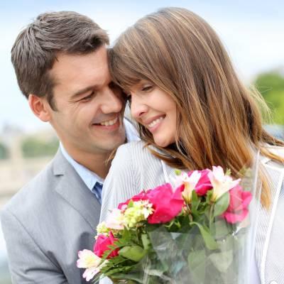 Букет цветов на первое свидание
